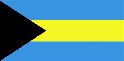 flag   bahamas  clipart