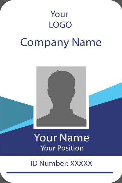 template id card photoshop hq printable documents