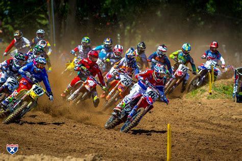lucas pro oil motocross 2018 lucas oil pro motocross chionship schedule