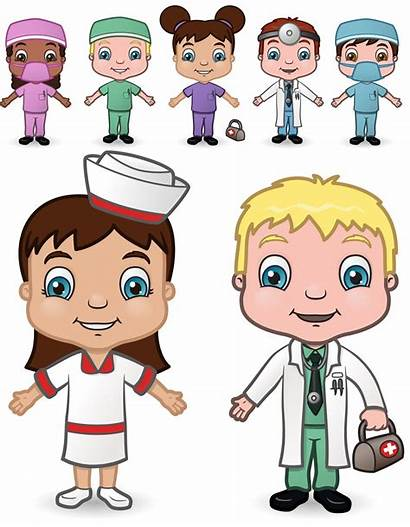Doctor Occupations Clipart Nurses Cliparts Illustrations Clip