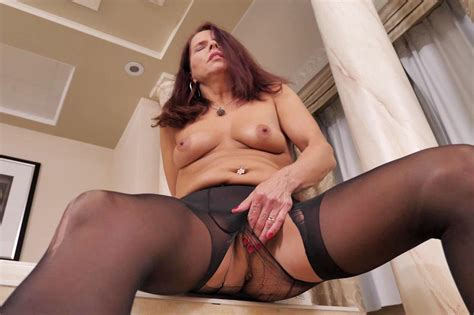 Nyloned Milf Candy From Canada Needs Getting Off Porn 1d