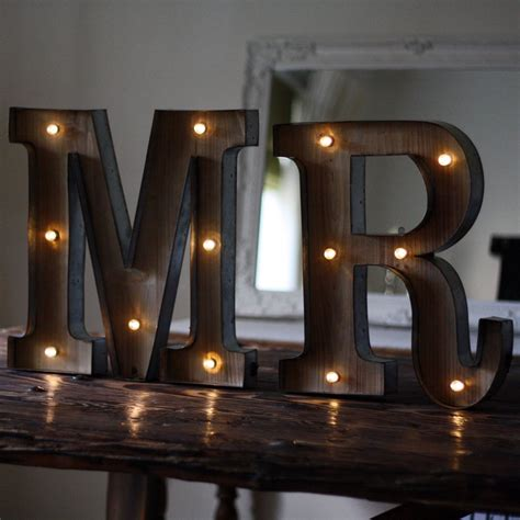 metal light up letters carnival light up letters mr the wedding of my dreams