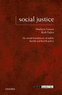 social justice  moral foundations  public health