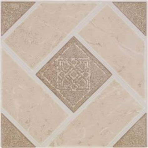 home depot armstrong flooring armstrong stylistik ii 12 in x 12 in jamesport camel vinyl tile 45 sq ft case 26295061