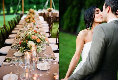 laid  backyard wedding  wed
