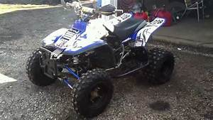 Yamaha Warrior 350 366 Custom Rebuild 2011