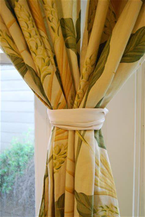 tips to tie back curtains popsugar home