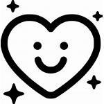 Smile Icon Wink Svg Sign Relationship Onlinewebfonts