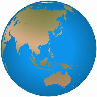 Globe Asia Detailed Earth Geography Globes Webp
