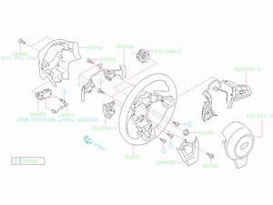 Subaru Forester Cover Steering Wheel   Lower   Column