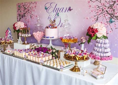 kara 39 s party ideas glamorous girl 1st birthday kara 39 s party ideas enchanted garden birthday party kara
