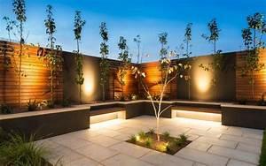 LED Gartenbeleuchtung Ideen Fr Terrasse Und Blumenbeet