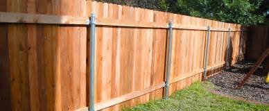 metal fence post for wood fence home remodeling and