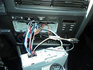 Installing A New Radio Head Unit Into A Stock 1986 Bmw 325