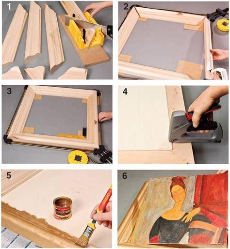 costruire cornici per quadri cornici fai da te cornice fai da te cornici per quadri