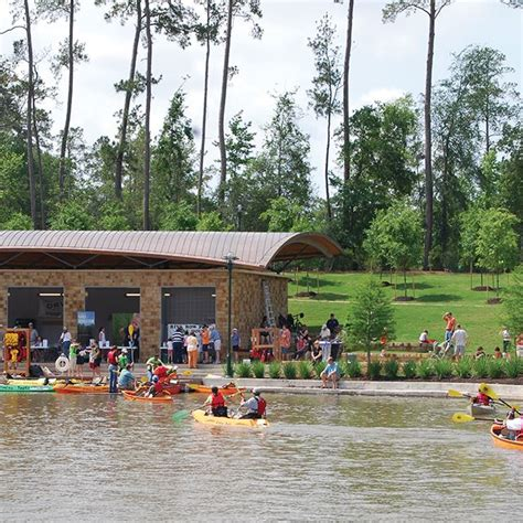 Paddle Boats The Woodlands by The Woodlands Township Tx