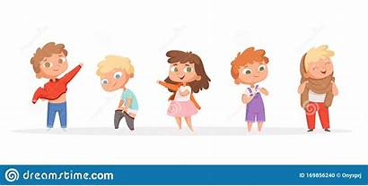 Clothes Cartoon Changing Children Teaching Helping Shoes