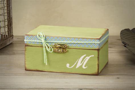 colorful wooden keepsake boxes tutorial decorative