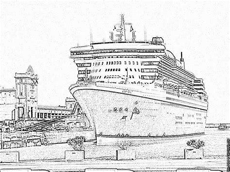 Dessin à Imprimer Bateau Titanic by 32 Dessins De Coloriage Paquebot 224 Imprimer