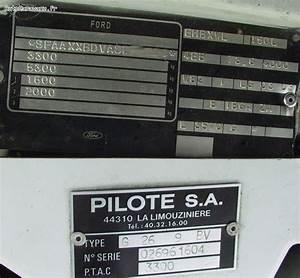 Plaque Transit : poids vide charge utile poids total en charge ~ Gottalentnigeria.com Avis de Voitures