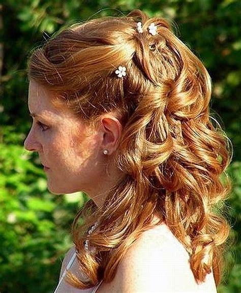 half up wedding hairstyles   half up half down bridal