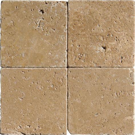 walnut dark tumbled travertine tiles