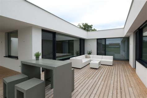 Bungalow Mit Innenhof
