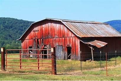 Barn Arkansas Faded Rural Local Bringing Cooperative