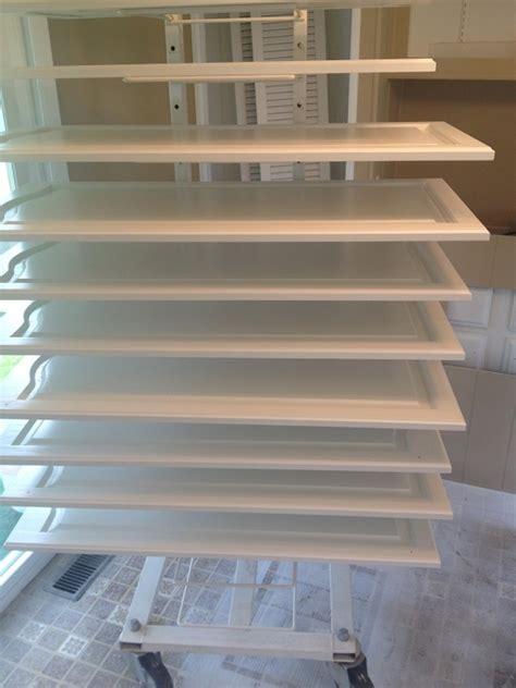 cabinet drying racks painting guys