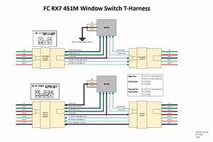 Diy  Fc Rx7 Window Switch Relay Mod Pnp T