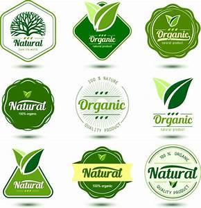 natural product labels design vector free vector in With how to create product labels