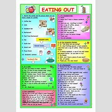 Eating Out  Vocabulary Food  Pinterest  Printables, Studentcentered Resources And Worksheets