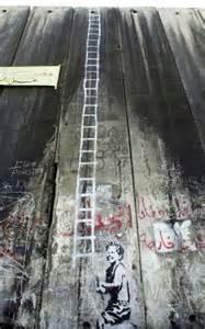 street art banksy en palestine projet santas ghetto