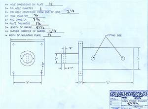 Hydraulic   Rebuilt Selco 6 Inch Cylinder