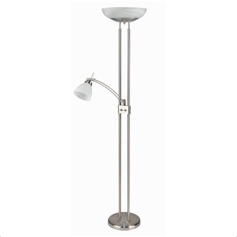 dimmable led torchiere floor l furniture antique brass floor reading l dimmable