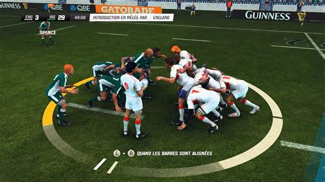 England VS Ireland : Rugby Challenge 2 [PC][FR] - YouTube