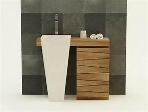 Meuble De Salle De Bain En Teck : achat vente meuble de salle de bain teck salerne simple ~ Edinachiropracticcenter.com Idées de Décoration