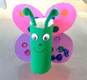 Toilette Pour Enfant : papillon diy rouleau de papier toilette rouleau papier ~ Premium-room.com Idées de Décoration