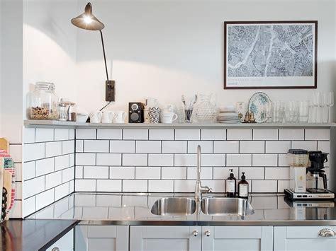 cuisine carrelage noir et blanc le joint noir ou gris pour le carrelage joli place
