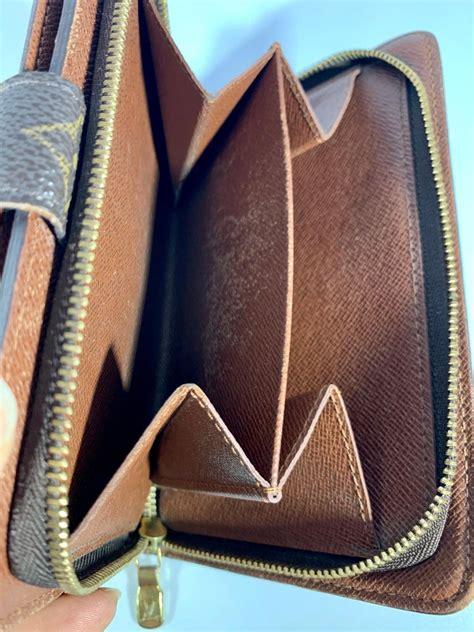 louis vuitton zippy wallet porto papie zip brown monogram bifold women wallet  sale  stdibs