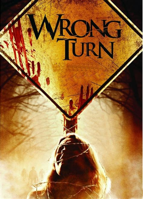 wrong turn horror  poster horror movies