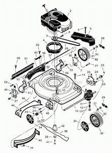 Murray Lawn Mower Parts Diagram