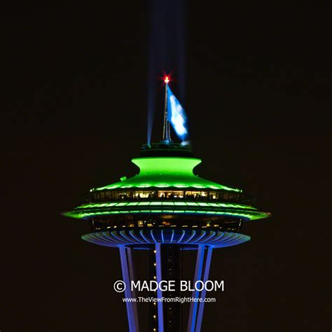 superbowl colors bowl chions xlviii seattle space needle in