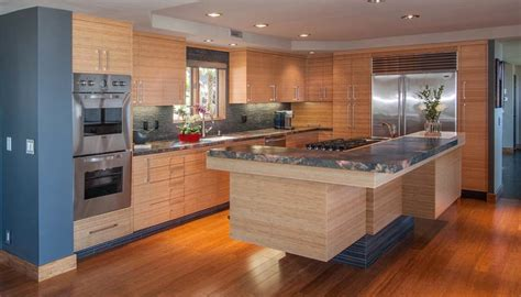 bamboo kitchen cabinets cost bamboo kitchen cabinets cost comparison nucleus home 4300