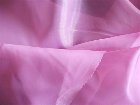 Pink Voile Quality Fabric