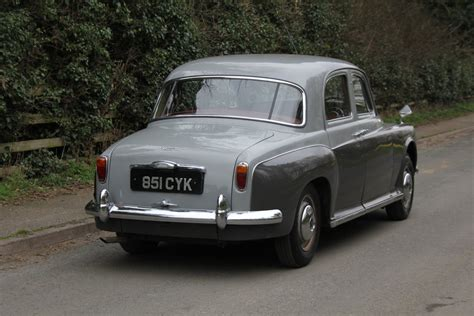 P4 For Sale by 1961 Rover P4 100 For Sale Car And Classic