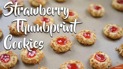 Selain itu thumbprint cookies ini sering saya buat untuk saya jadikan buah tangan bagi keluarga. RESEP DAN CARA MEMBUAT STRAWBERRY THUMBPRINT COOKIES | TINTIN RAYNER RECIPE - YouTube