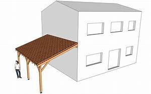 Construire Un Carport : plan de construction d 39 un carport en bois ~ Premium-room.com Idées de Décoration