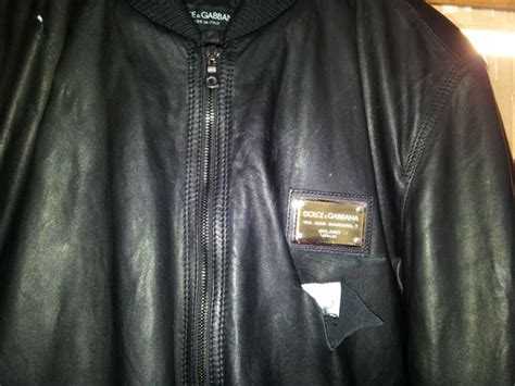 Leather Jacket Repaired
