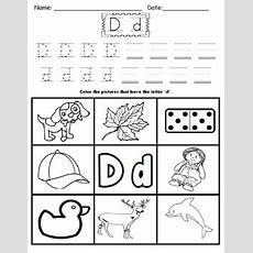 Letter D Worksheets! By Kindergarten Swag  Teachers Pay Teachers